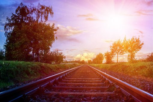 дорога поезд