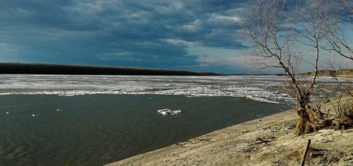 лед иртыш река